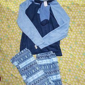 NWT pajama set with socks